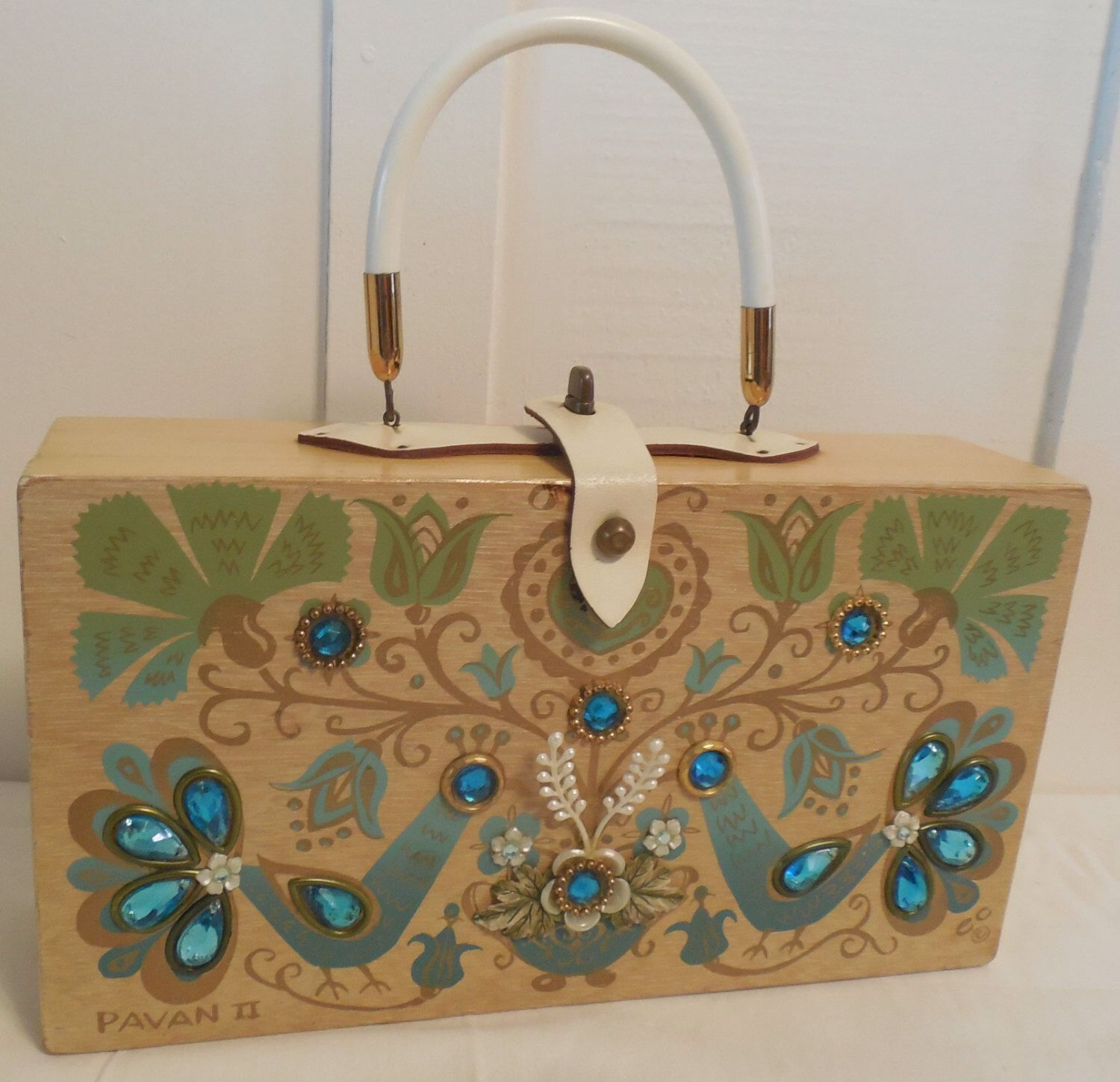 Enid Collins Pavan II Box Purse 12