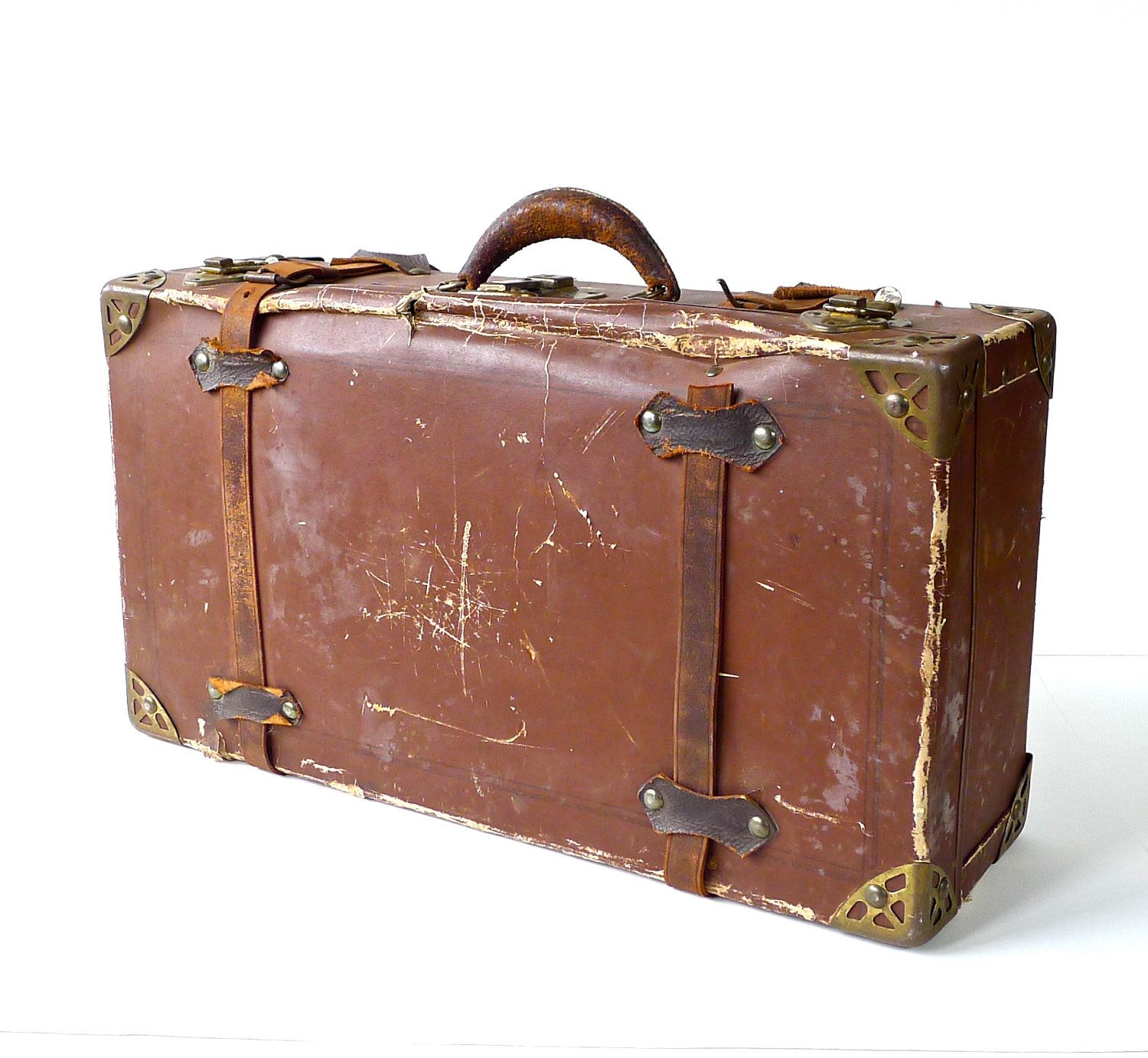 Antique Cardboard Poor Man's Suitcase | Search, Suitcases and Antiques