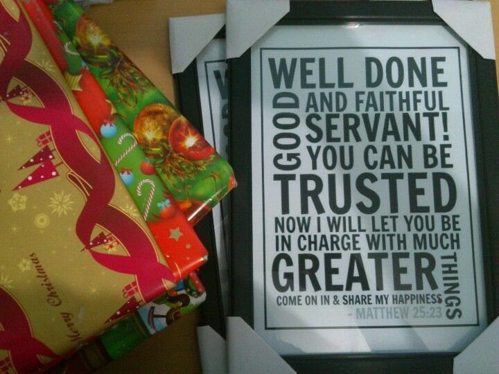 Gifts For Church Leaders And Pastors