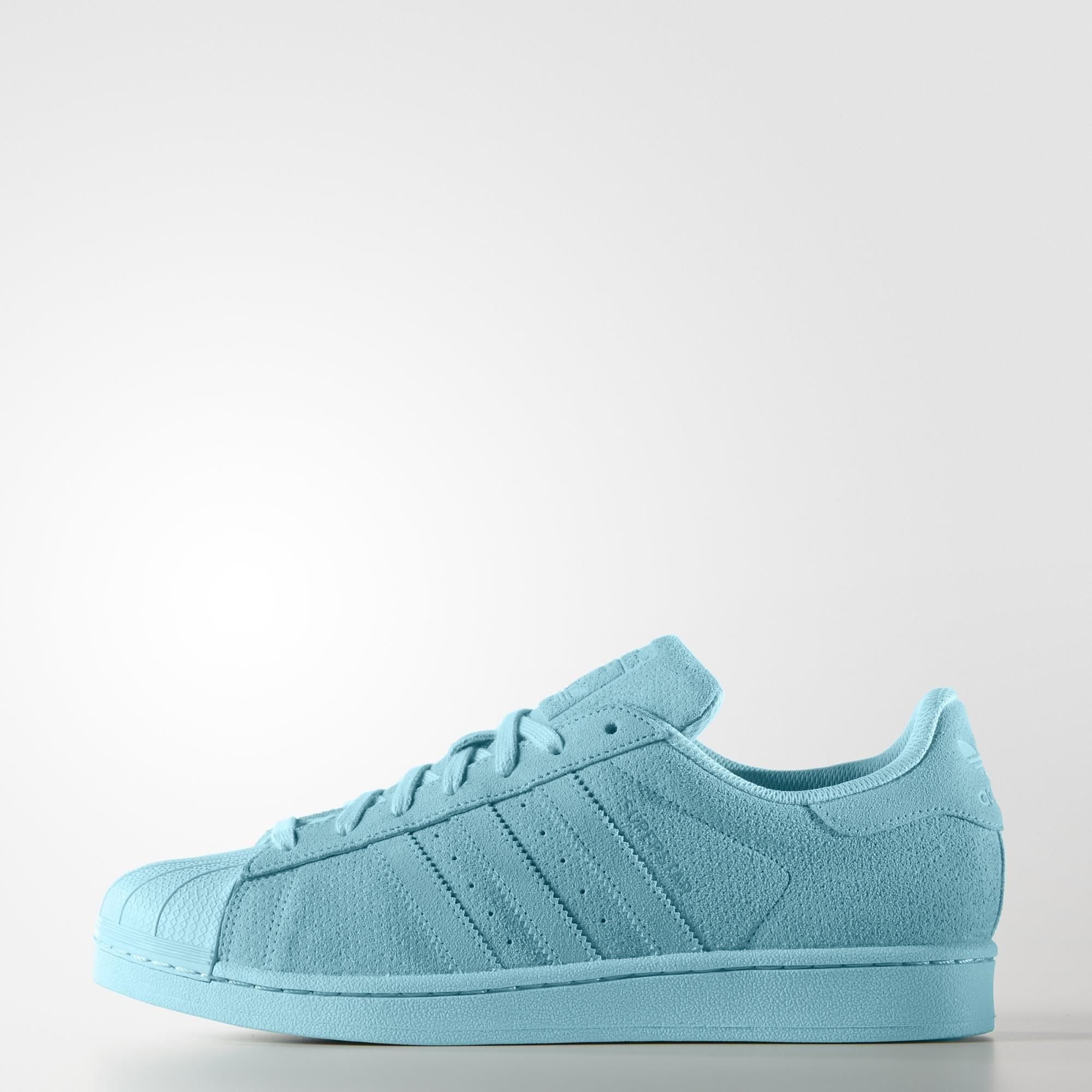 Blue Green Adidas Superstar Supercolor Weave Shoes Reasonable Style