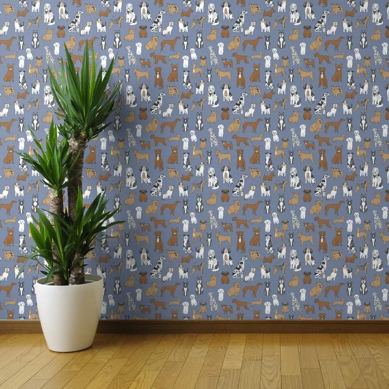Isabelle Max Arter Peel And Stick Wallpaper Panel Wayfair Peel And Stick Wallpaper Wallpaper Panels Wallpaper