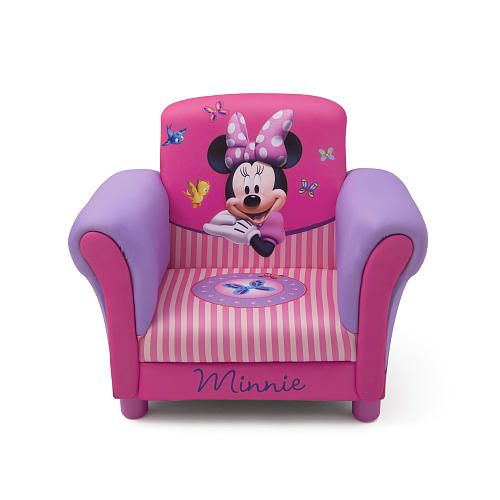 Disney Minnie Mouse Upholstered Chair  Delta  Toys R