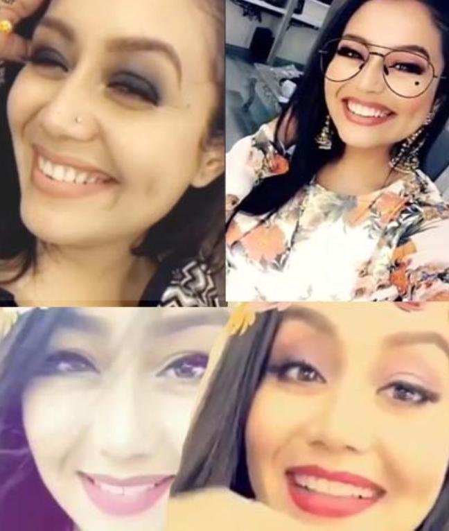 Neha Kakkar Watch My Famous Selfie Videos Neha Kakkar Indian Idol Angel Videos