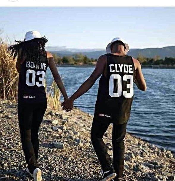 Shop from the best fashion sites and get inspiration from the latest bonnie  and clyde couples shirts. Fashion discovery and shopping in one place at ...