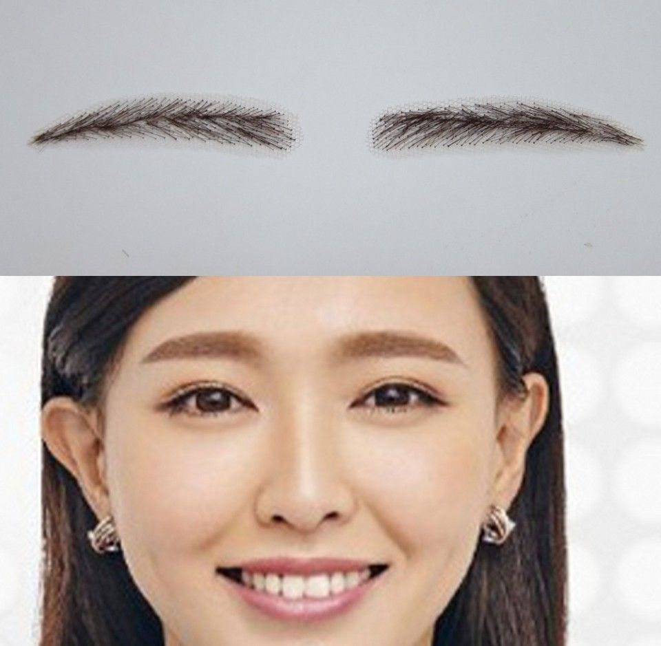 2016 Lace Eyebrows Template Arrival Top Quality Invisible Real