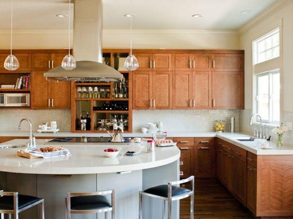 küche mit kochinsel ausgefallene kücheninsel in weiß mit stauraum - küche mit kochinsel