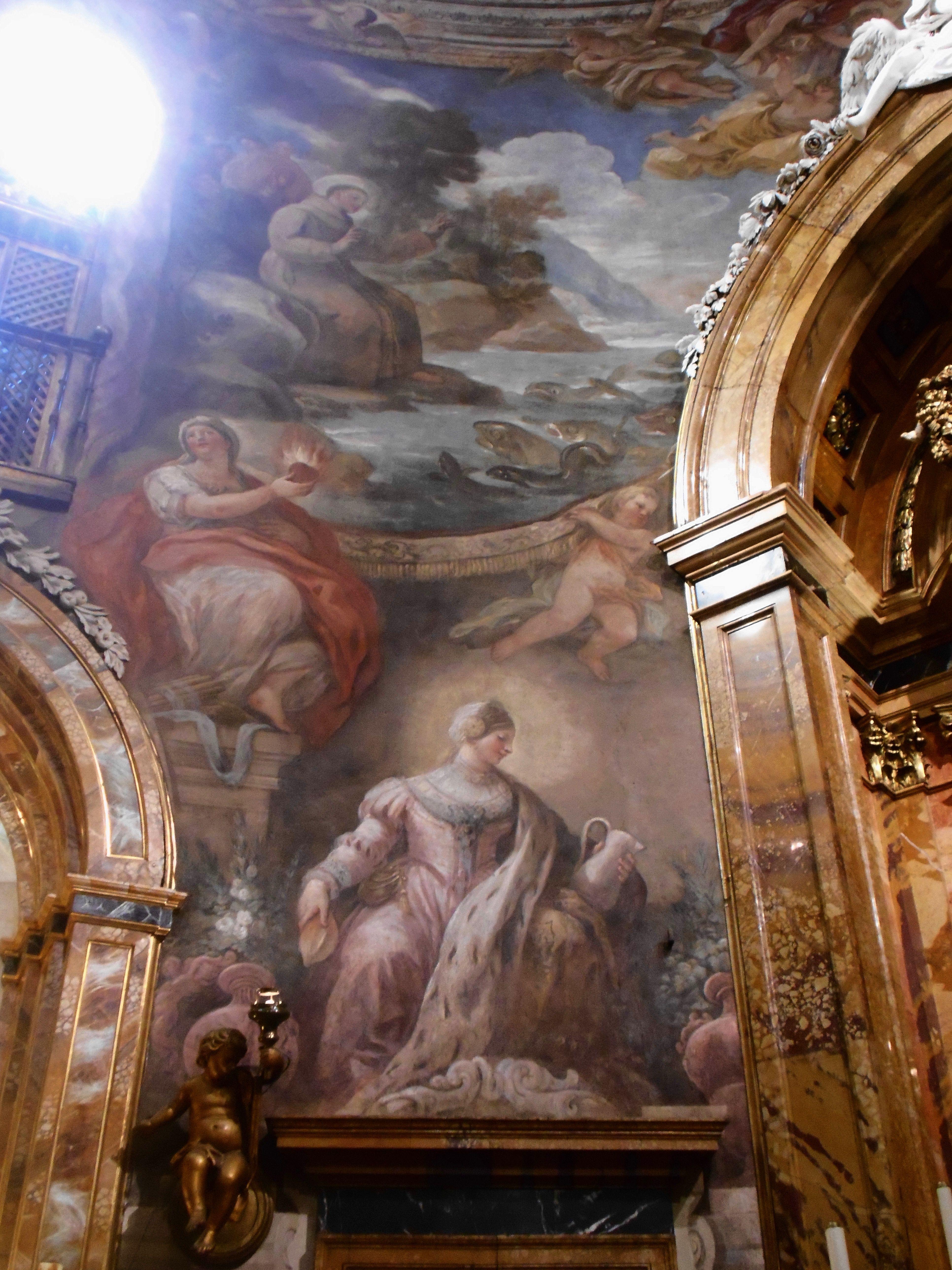 San Antonio De Padua Predicando A Los Peces La Caridad Y Santa  # Muebles Padua Salamanca