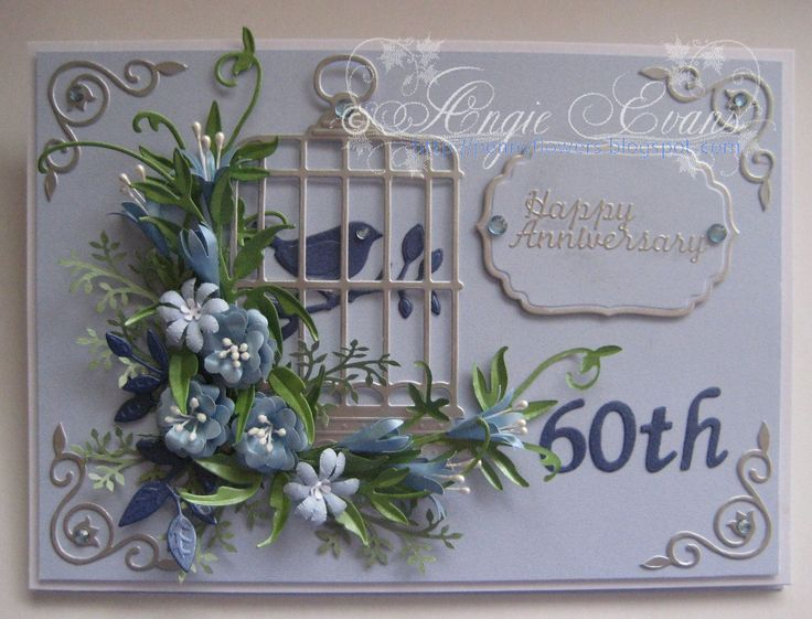 Image Result For Ideas Making Cards Using Birdcages Flowers And Erflies