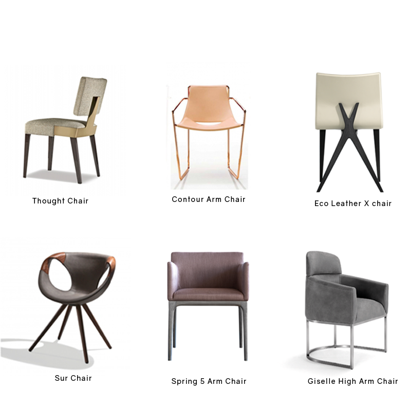 Modern Dining Chairs, Cliff Young Furniture