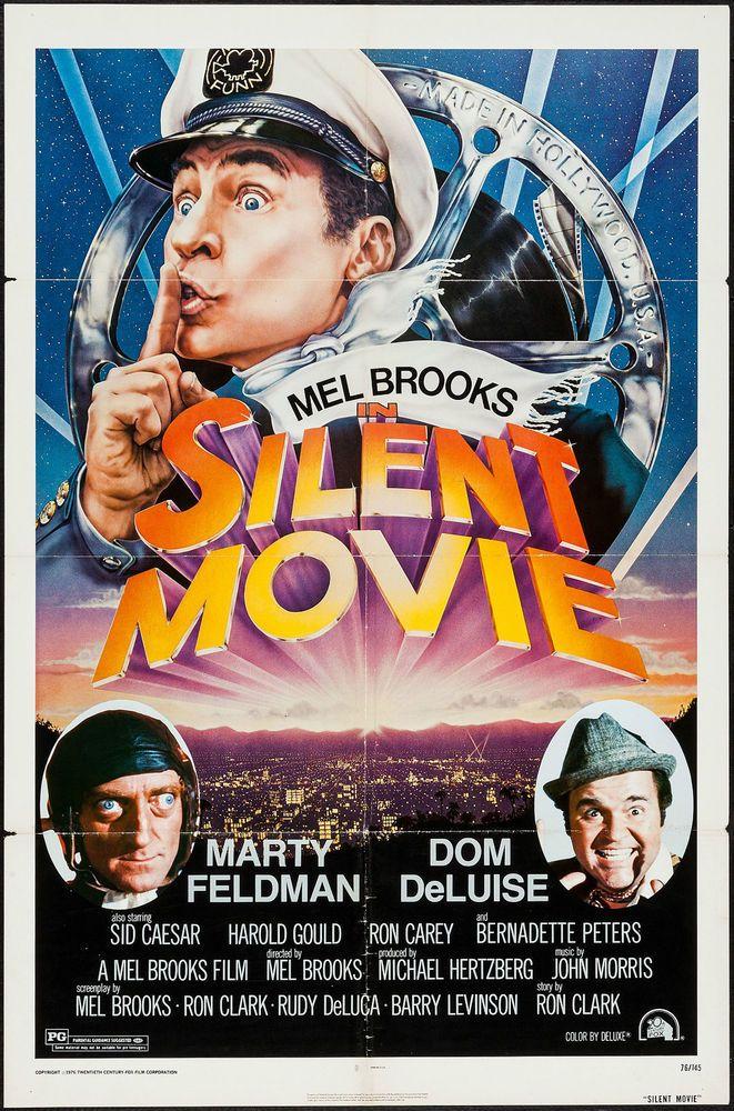 Silent Movie Mel Brooks 1976 One Sheet Original Poster 27 X 41 Silent Movie Mel Brooks Movies Best Movie Posters