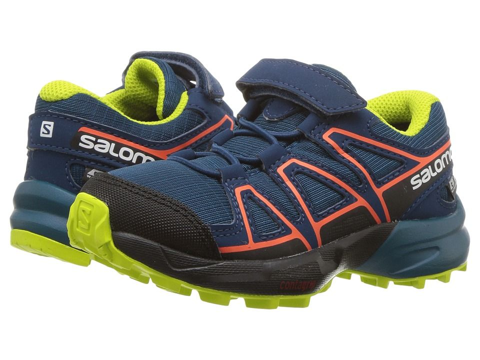 Salomon Kids Speedcross CSWP (ToddlerLittle Kid) Boys Shoes