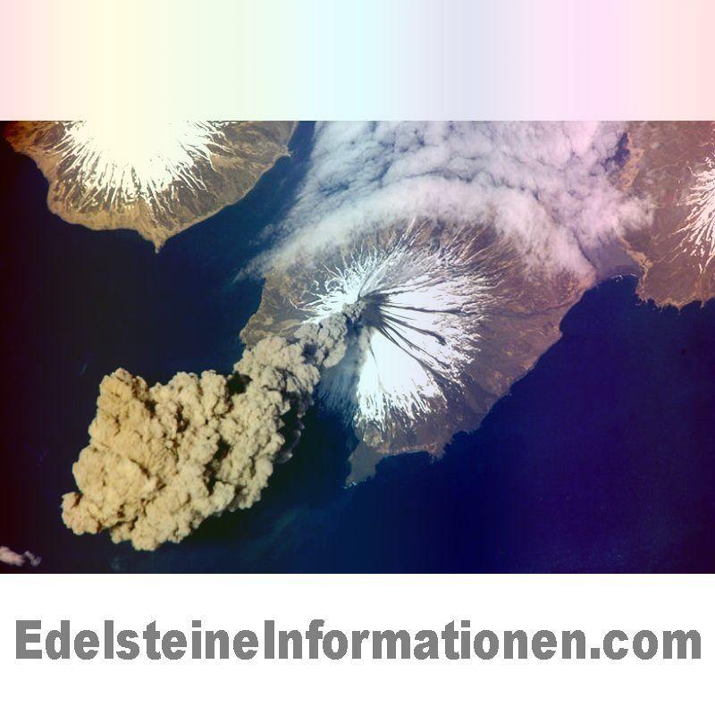 Mount Cleveland Aktive Vulkan In Alaska Die Aleuten Inseln