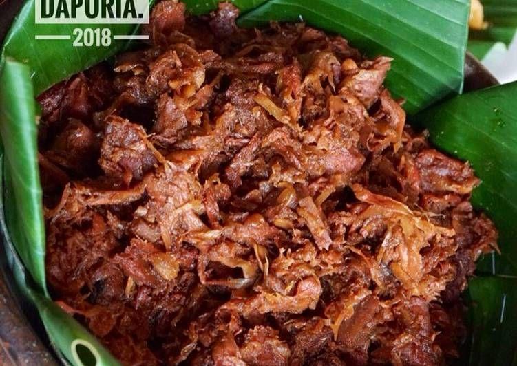 Resep Gudeg Presto Oleh Ria Harsanti Resep Makanan Resep Masakan Masakan