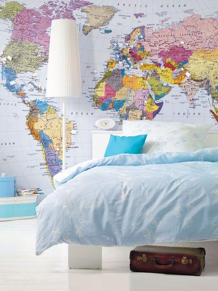 Deko Ideen Mit Landkarten Und Globus Die Welt Zuhause Home