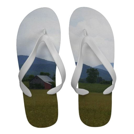 Rural Virginia Flip-Flops