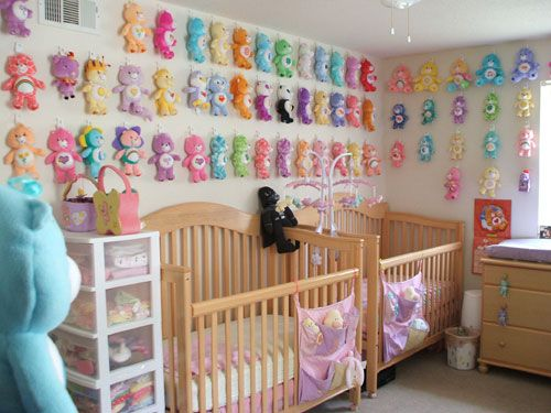 nursery for multiples Then we moved and I didnt have space for