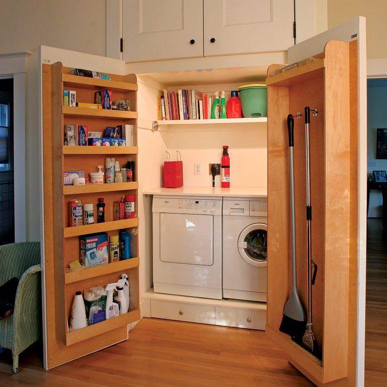 Alacena-Closet-Librero-Lavanderia todo en uno