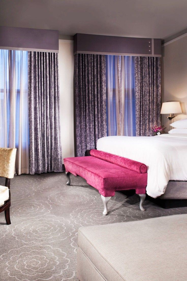 The 144 guestrooms are a pleasing marriage of historic and contemporary.