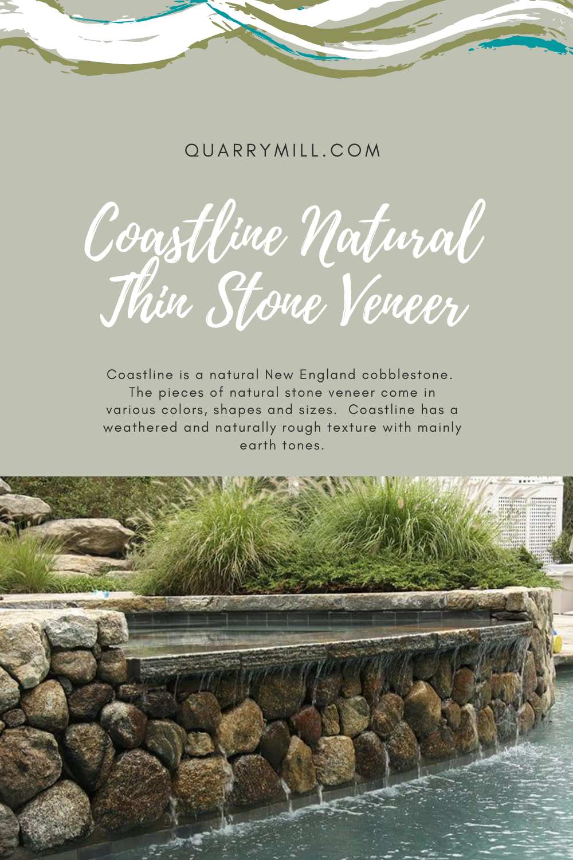 Coastline Real Thin Stone Veneer Pool And Spa In 2020 Thin Stone Veneer Natural Stone Veneer Stone Veneer