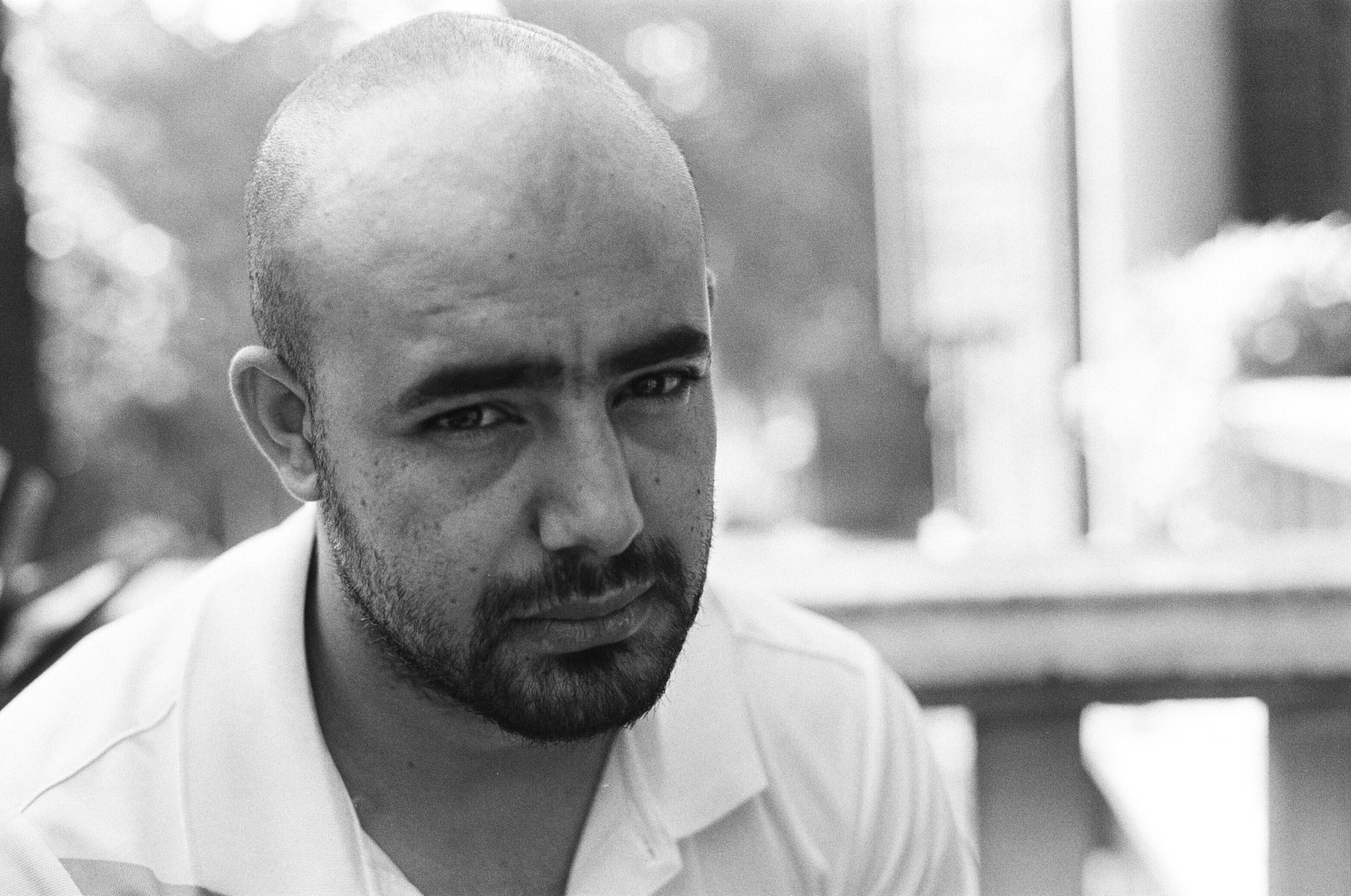 Portrait of Hussein Hulais  ©Taqi Munassar