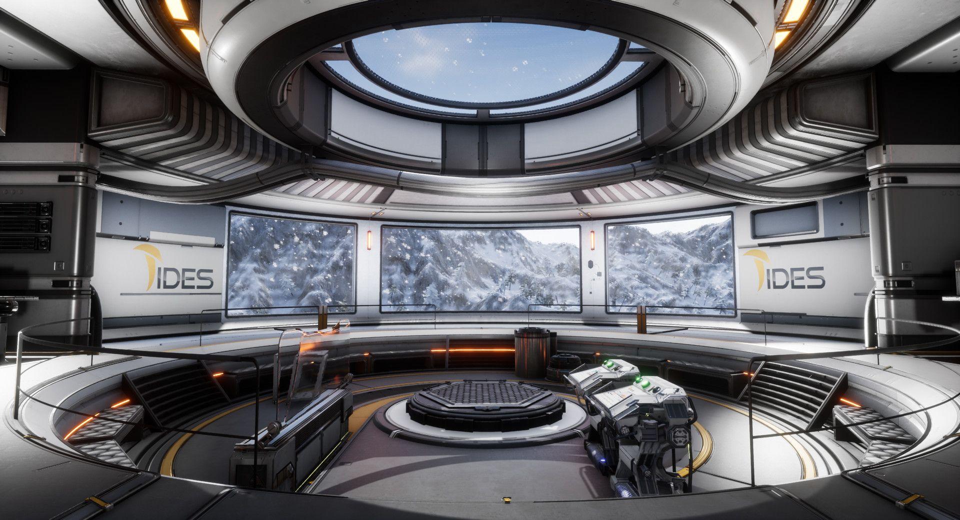 ArtStation Virtual Reality Hologram Room, Kymo Thys