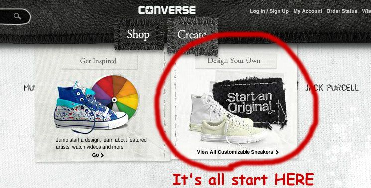 design your own converse   Design your