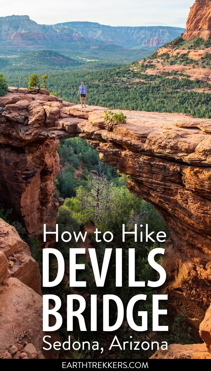 How to Hike to Devils Bridge in Sedona | Earth Trekkers