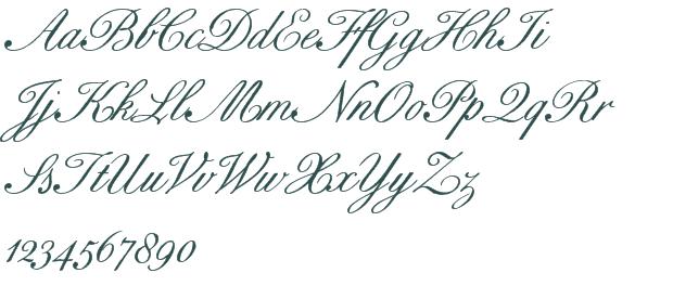 Bix Antique Script Hmk font download free (truetype