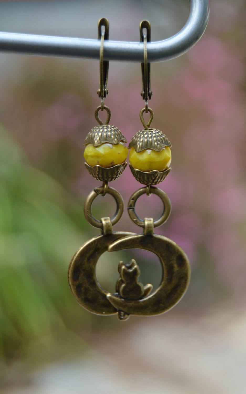 809e9529deac Pendientes cristal amarillo