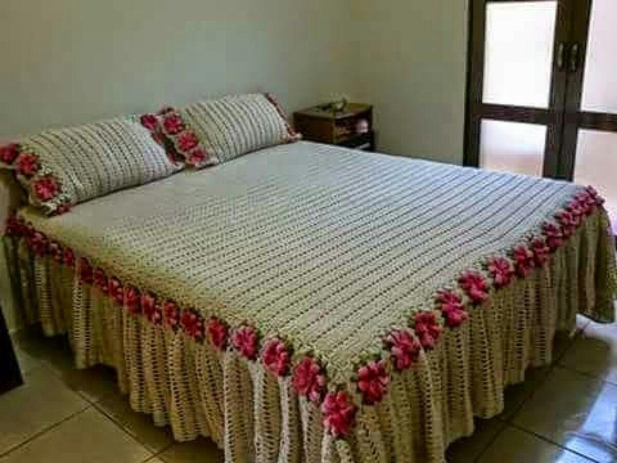 colcha-de-cama-de-casal-ou-solteiro-de-croch-225601 ...