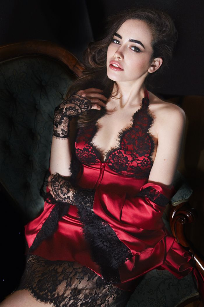 lace gloves? yes please. --> Myla Siren Chemise and Robe