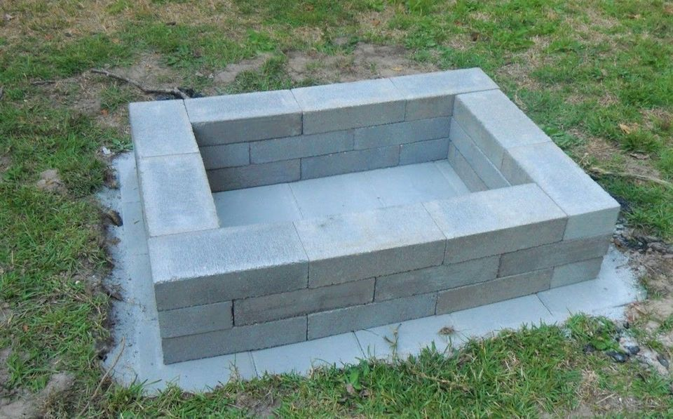 Get Inspired With These Fire Pits You Can Make For Less Than 100 In 2019 Landscape Ideas Square Fire Pit Outdoor Fire Fire Pit Backyard