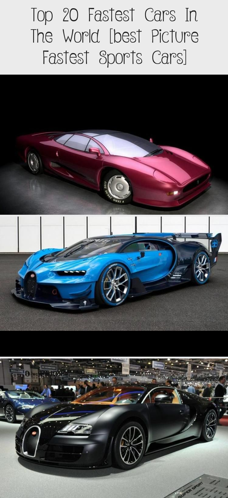 Top 20 Fastest Cars In The World Best Picture Fastest Sports Cars Fast Sports Cars Sports Cars Car In The World