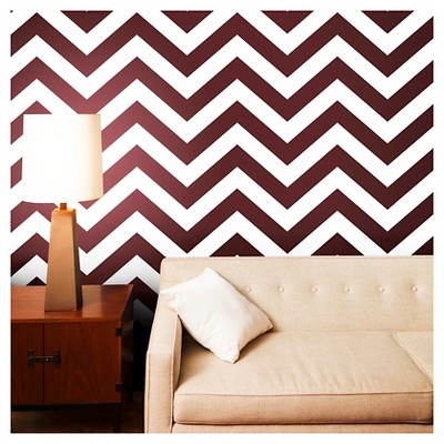 tempaper zee self adhesive removable wallpaper wild cherry