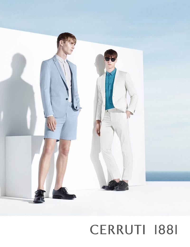 Cerruti 1881 Spring/Summer 2015 Campaign