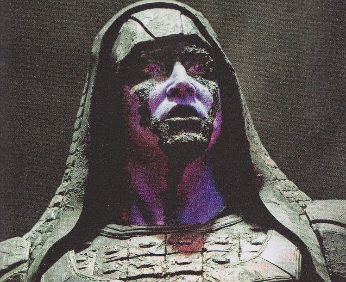Lee as Ronan in Guardians of the Galaxy