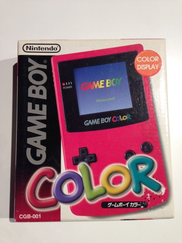 Console GameBoy Color Berry : Rose - Violet / Pink - Purple (1996)