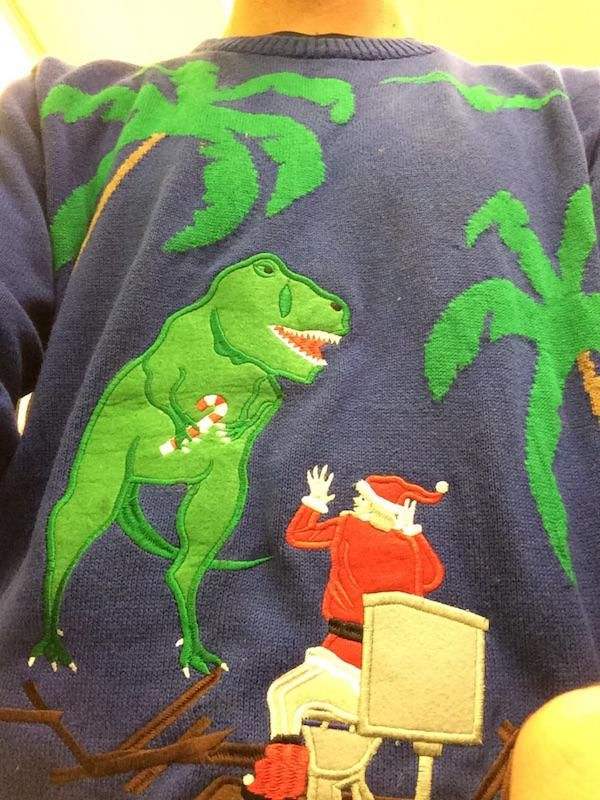 Jurrasic Park Ugly Christmas Sweather Silly Pictures Pinterest