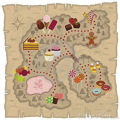 arial view   candyland | maps | Pinterest | Candyland and Treasure