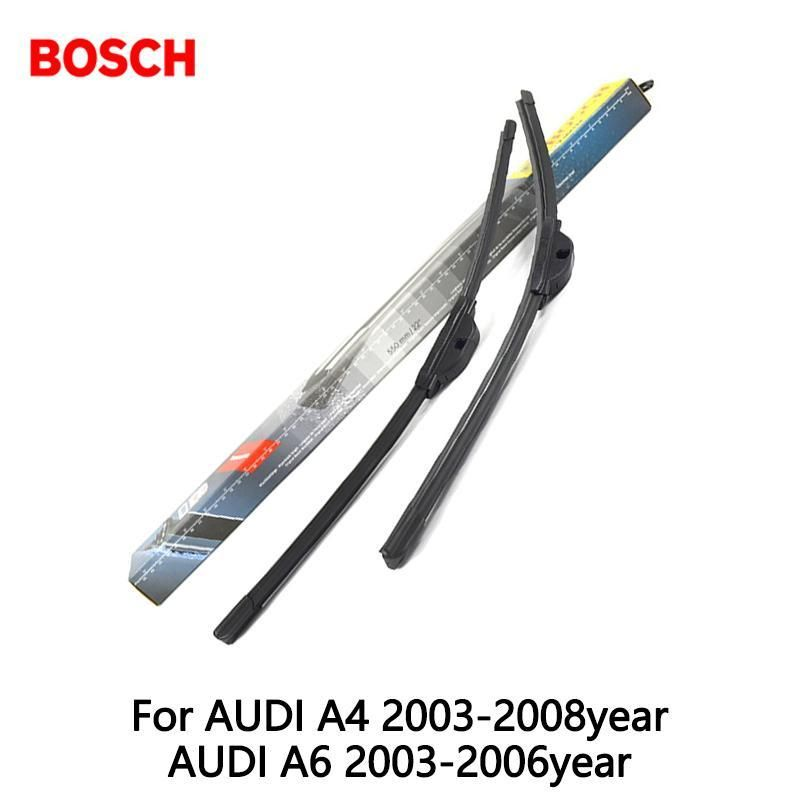 PcsLot Bosch Car Aerotwin Wipers Windshield Wiper Blades Dedicated - Audi a4 windshield wipers