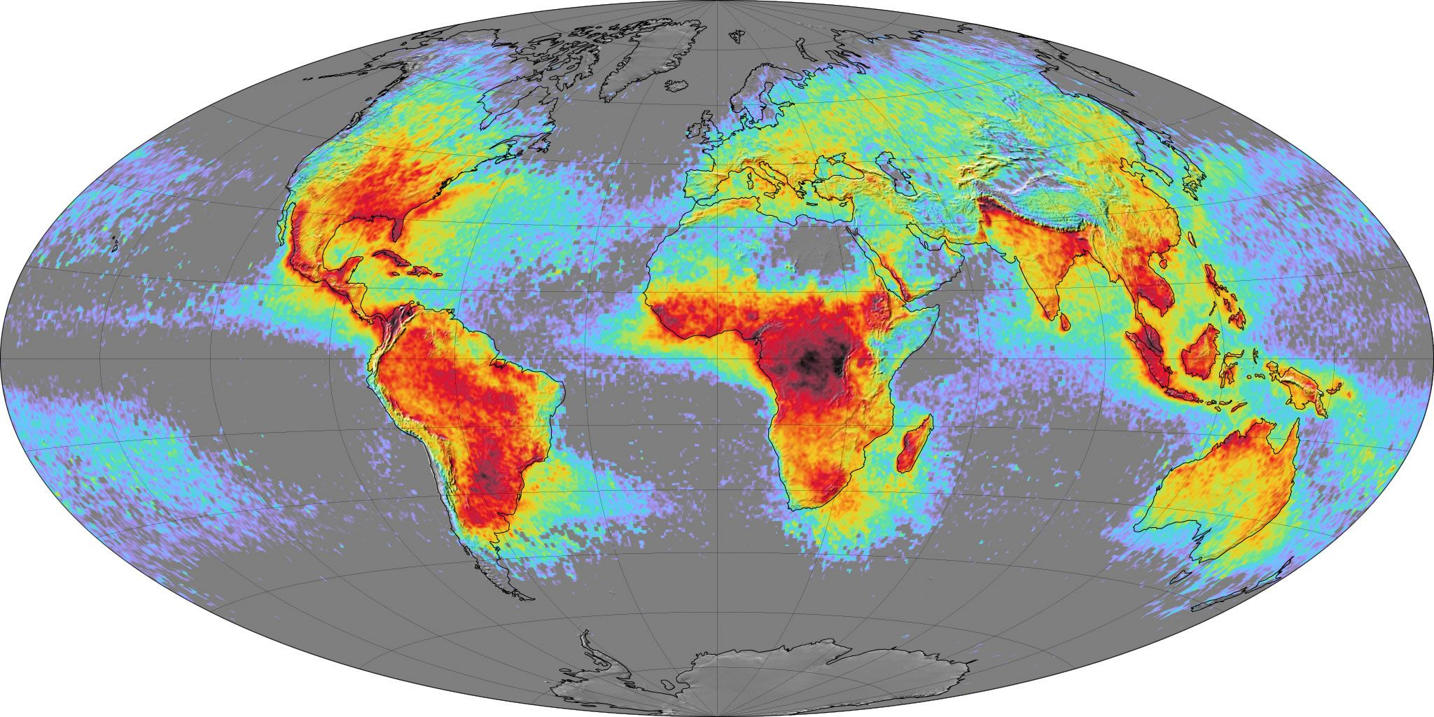 World lightning map science meteorology pinterest lightning world lightning map lightning maplightning strikesearth scienceworld gumiabroncs Images