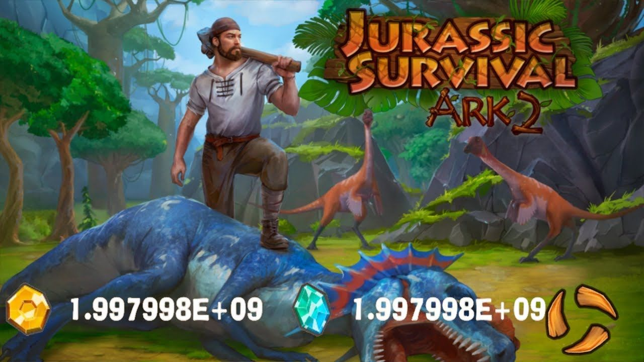 download game jurassic survival mega mod
