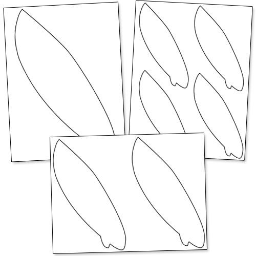 photo about Printable Surfboard Templates identify Printable Surfboard Templates against