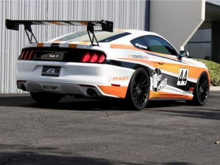 2015 2017 Mustang Gt 250 Adjustable Track Wing 67 Apr