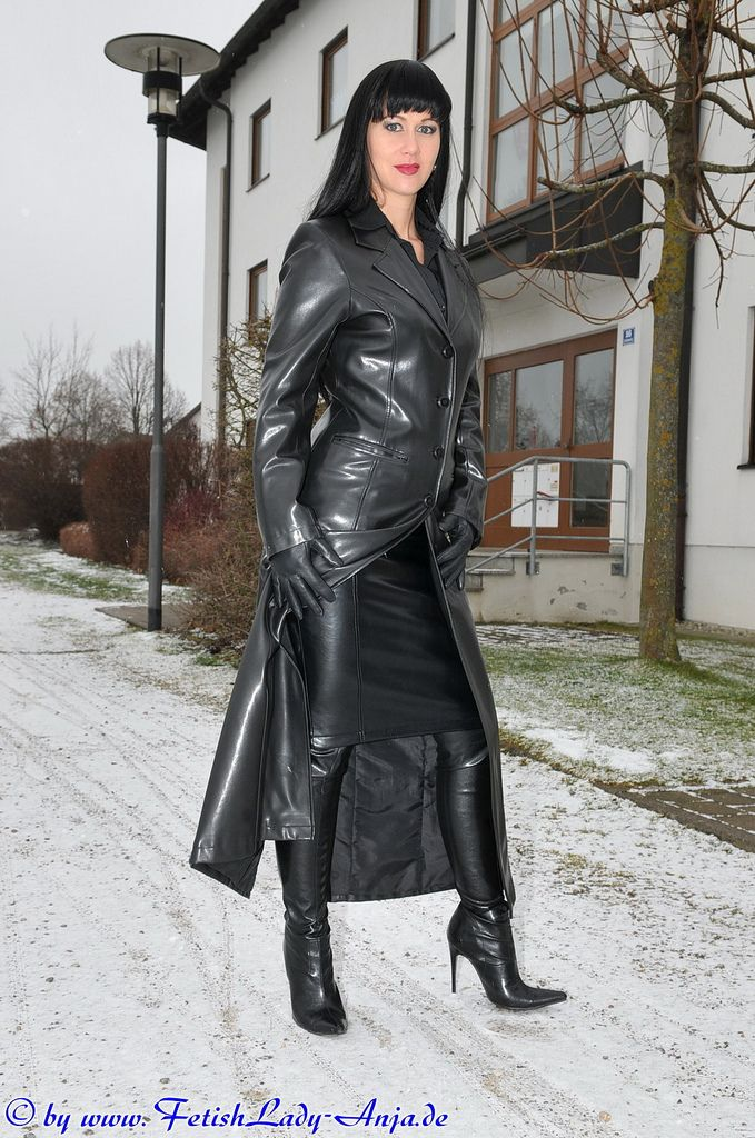 e1417f7df Latex leather Fetishism : Photo | jan-20 in 2019 | Long leather coat ...