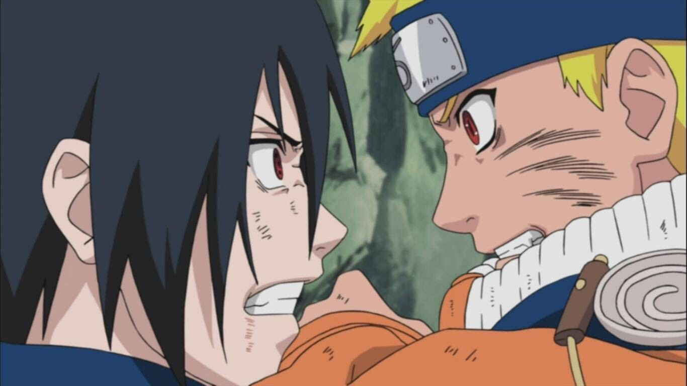 Pin By Mirian L On Anime Cartoons Naruto Vs Sasuke Naruto