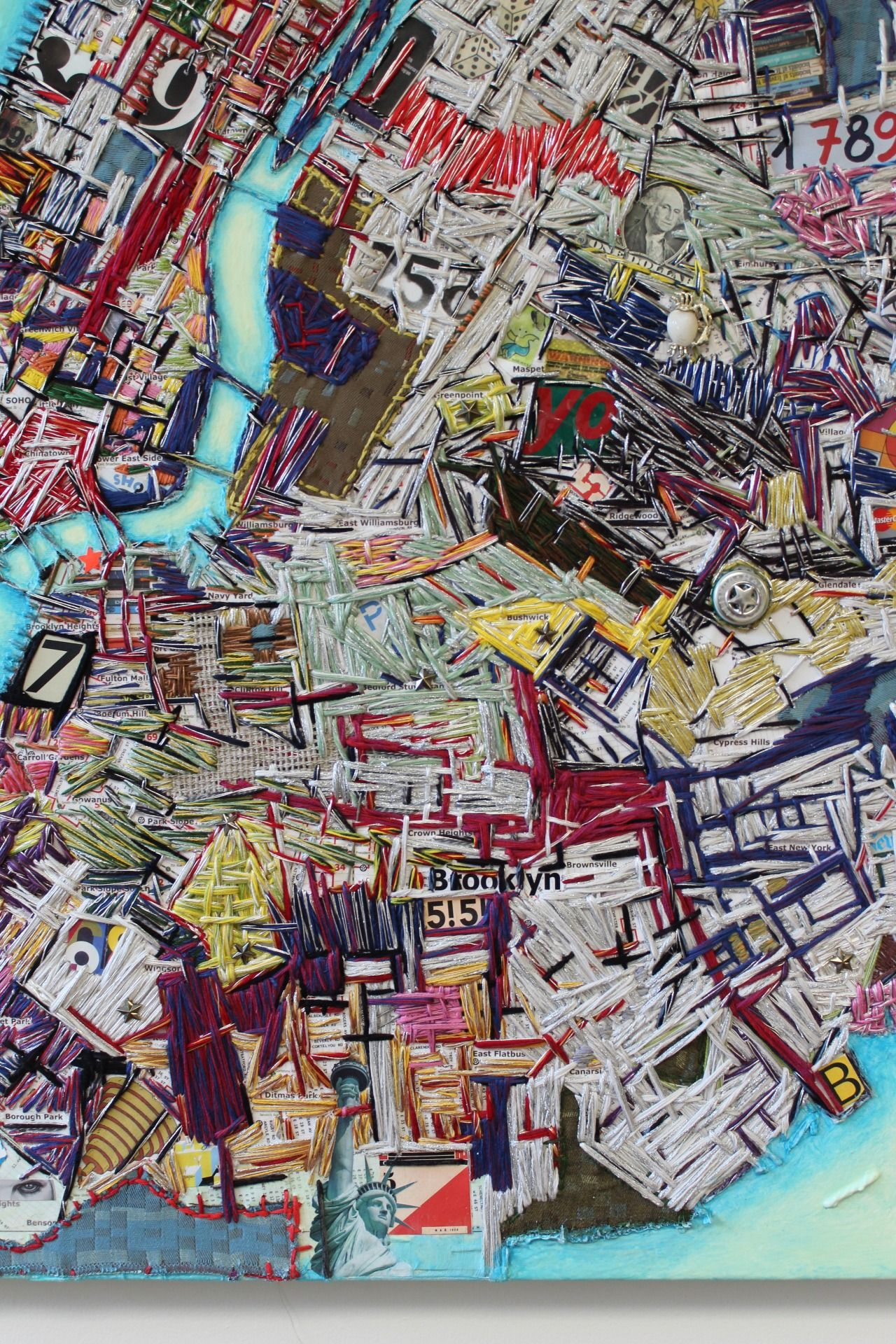 Seattle Map Redmond%0A Now on view New York City Map by Ruben Marroquin at The Fuller Craft Museum  http