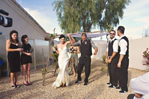 Real Weddings Kelly Ivo Lake Havasu