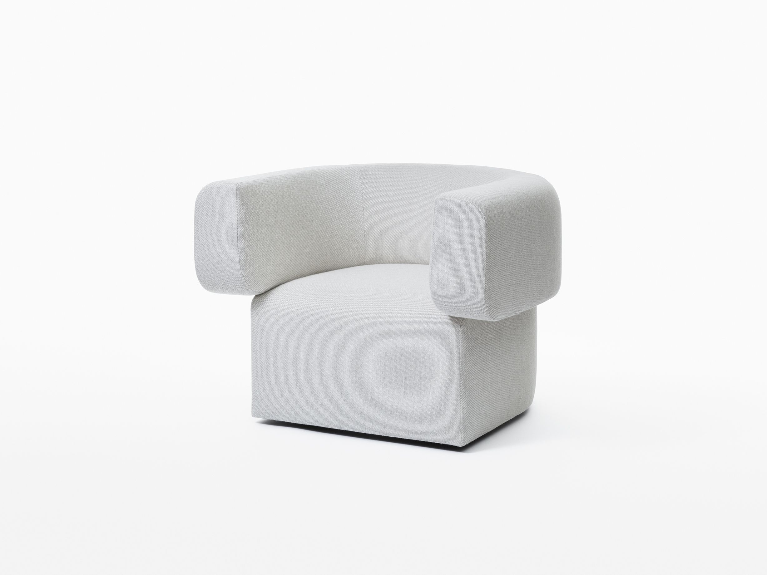 Caste Greyling Lounge Chair With Swivel Base Interior