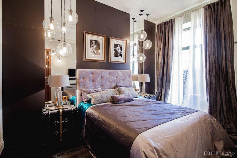 Спальня в стиле арт деко. Фото с сайта ecole-studio.com ...
